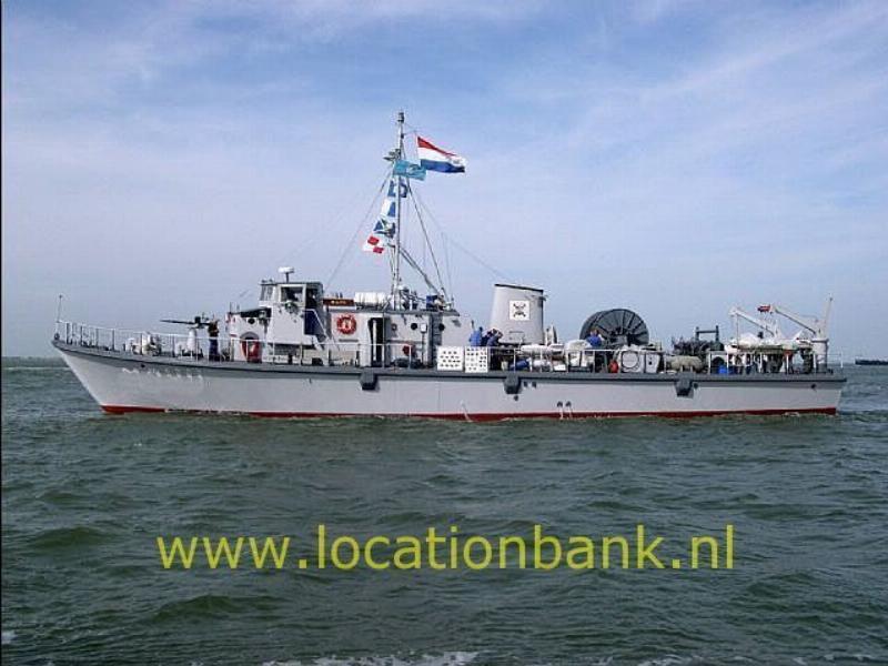 marine schip mijnenveger