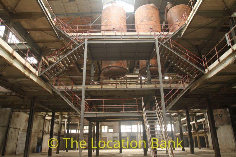 fabriek en loods