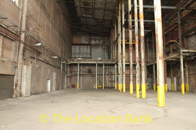Verlaten fabriek en loods