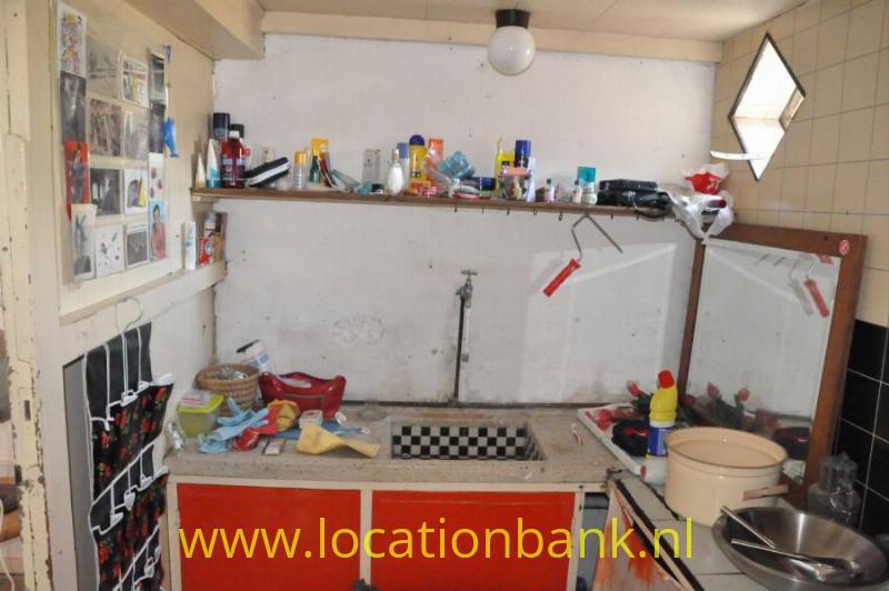 Oud klein keukentje