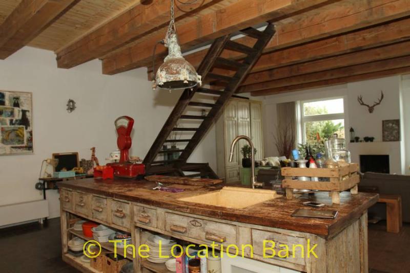 open artistieke keuken