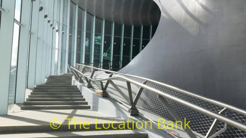Moderne trap arcitectuur