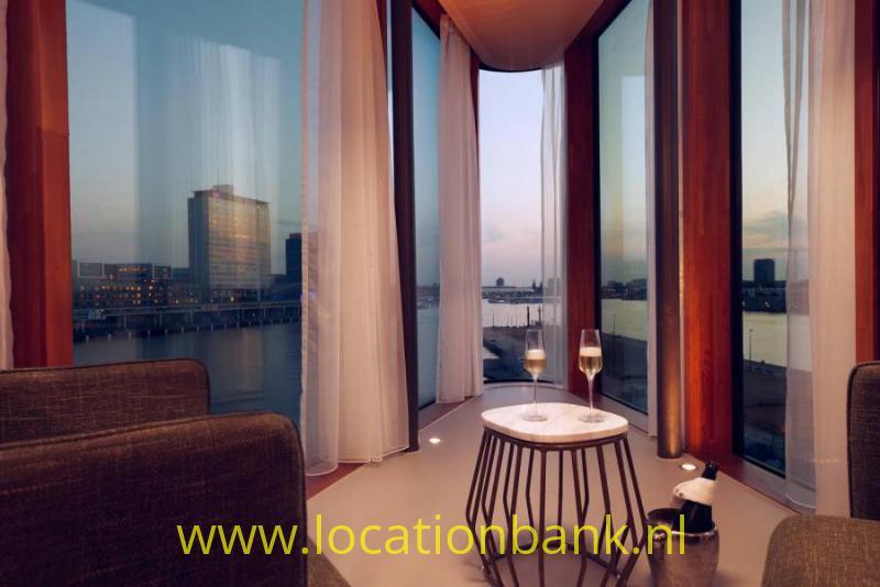 Hotel suite met uitzicht
