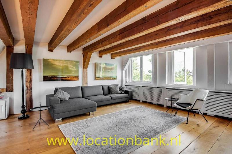 Living Huiskamer met balken