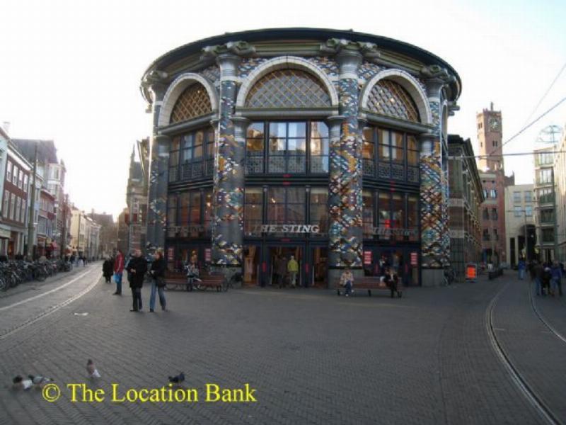 Gebouw gebouwen straat plein