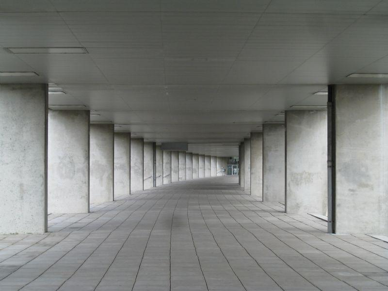 weg doorgang passage