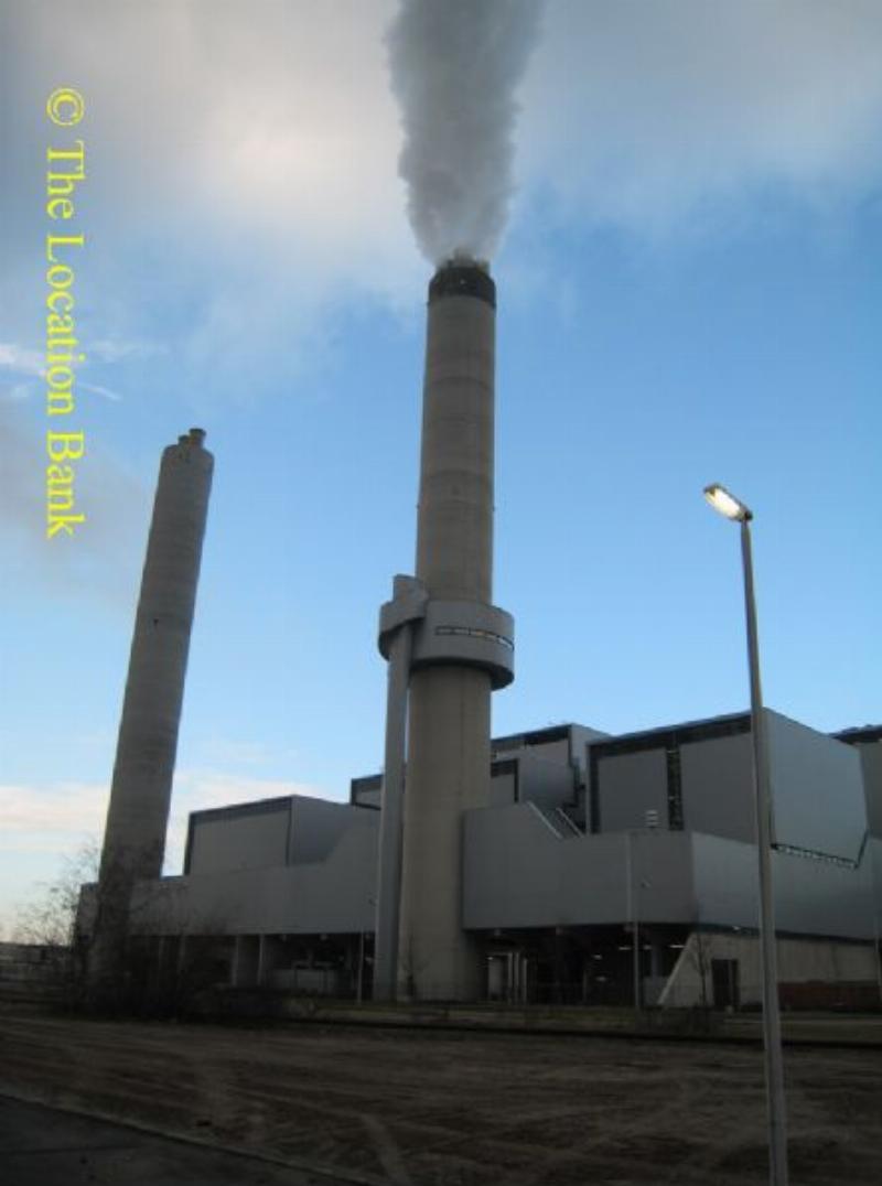 energiecentrale fabriek