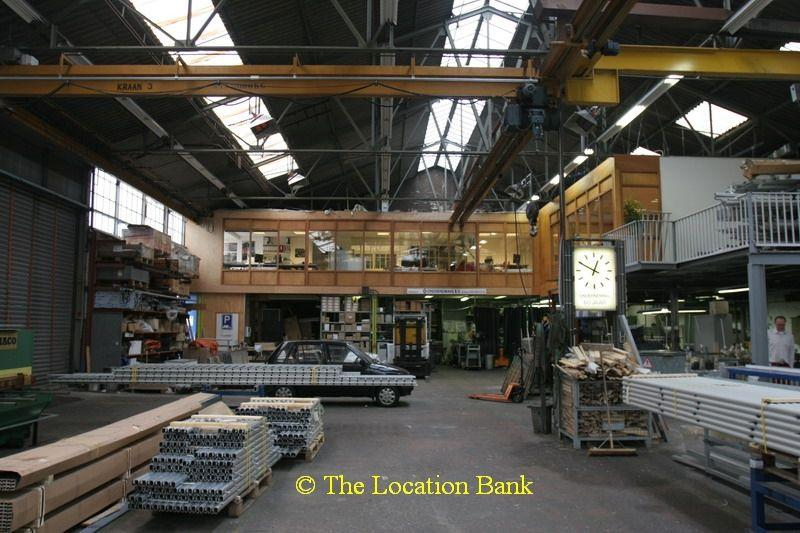 fabriekshal;loods;industrie