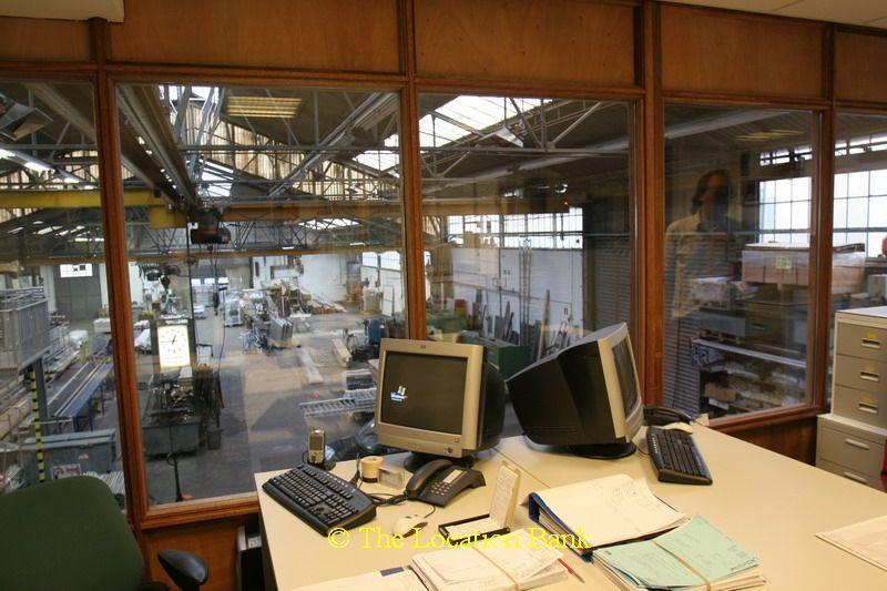 Fabrieks kantoor