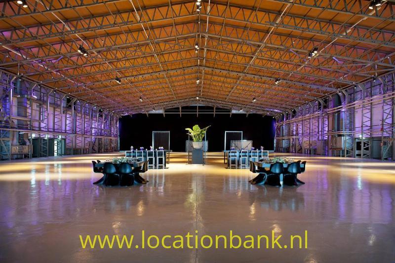hangaar zaal evenementen locatie