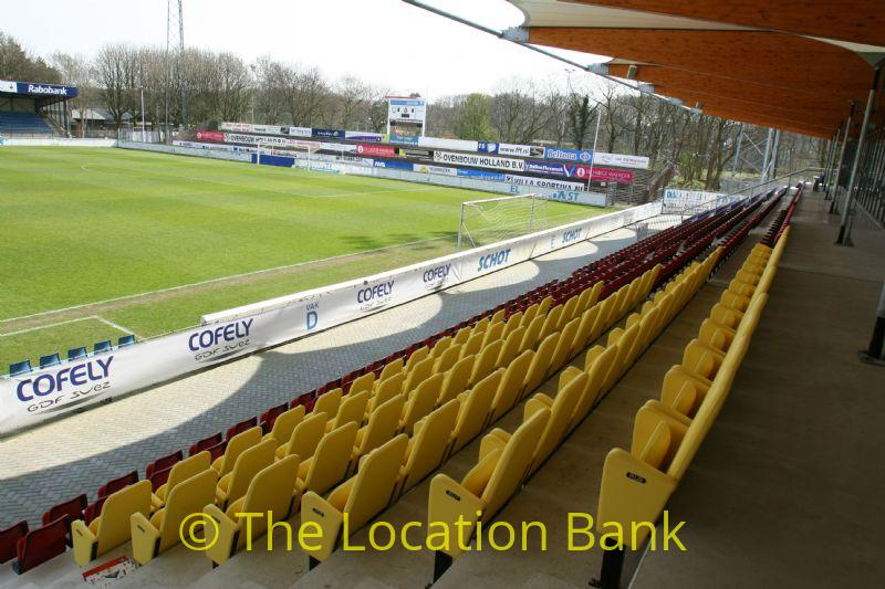 Voetbal stadion of voetbalveld