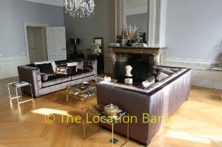 Wohnzimmer mit fire place